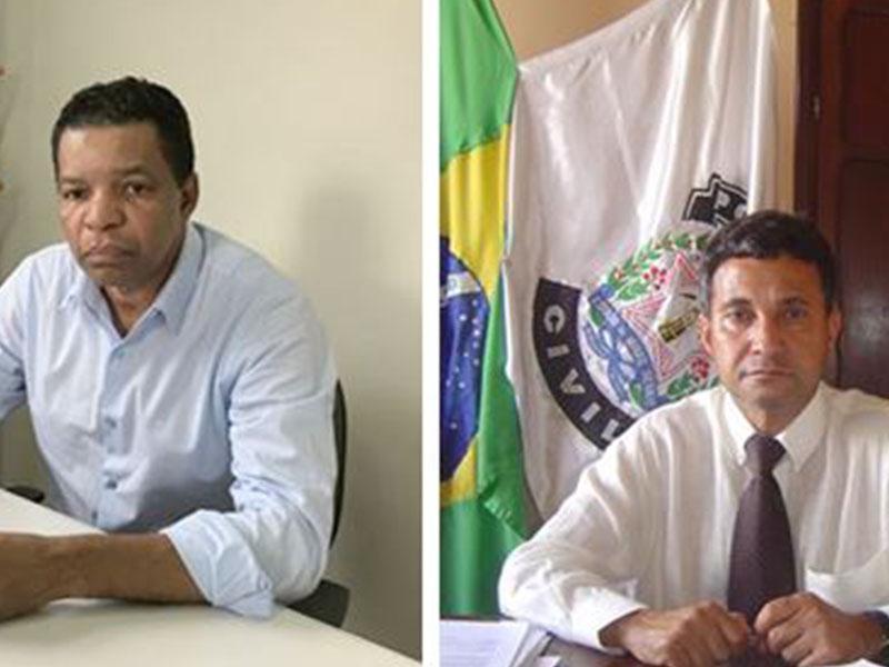 O delegado titular Jorge Mello e Dirceu Ribeiro estão aposentados