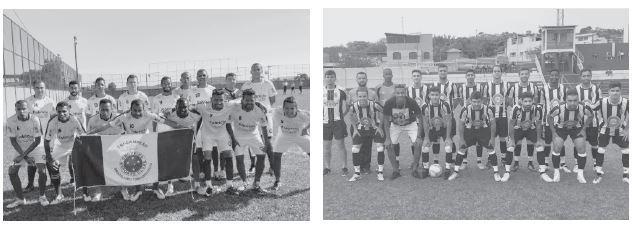 Pela primeira divisão, as equipes Cruzeiro da Ponte e Peixe Frito se enfrentam para decidir qual será a campeã