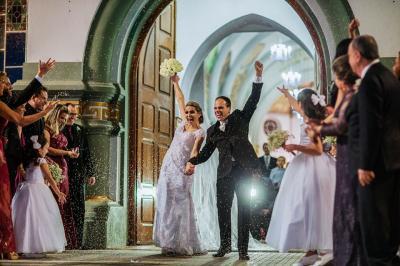 O casamento mais esperado do ano, o duplo sim de  Élcio Júnior e Flávia no último dia 22, na Igreja da Matriz