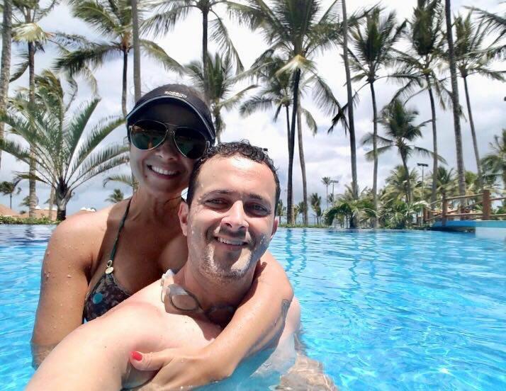 Meu amigos luxuosos Fábio e Thalita Gomes, curtindo merecidas férias. Adoro!