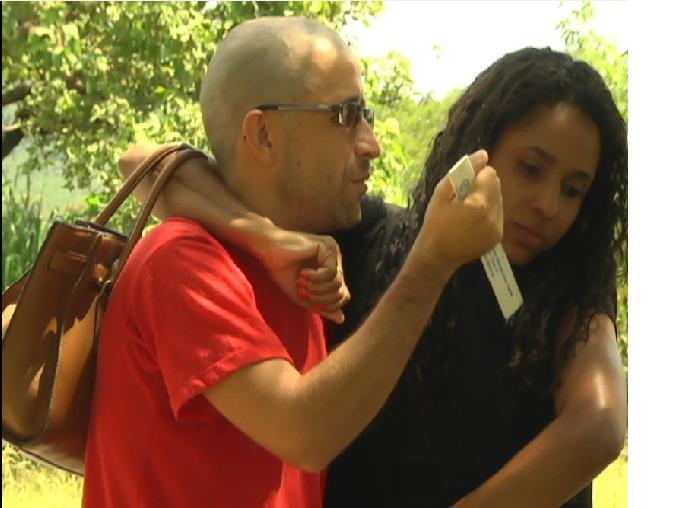 Policiais e perítos fazeram a reconstituição do crime de Josiane Lança na manhã de ontem, 17, no bairro Santa Mônica