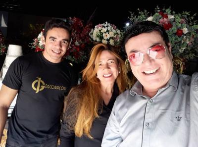 João Fábio e Valéria Guimarães, da JG Decorações