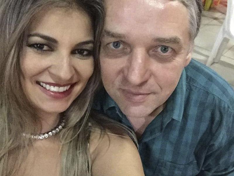 A linda Cyntia Bebiano, da Clínica Bem Me Quer,  e o médico Dr. Luis Maurício. Casal luxoooooo!!!!
