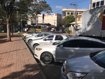 Hoje, comerciantes e trabalhadores da área central utilizam o estacionamento por até 12 horas, impossibilitando a rotatividade
