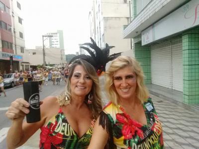 Ana Paula e Fernanda destaques no Carnaval 2018
