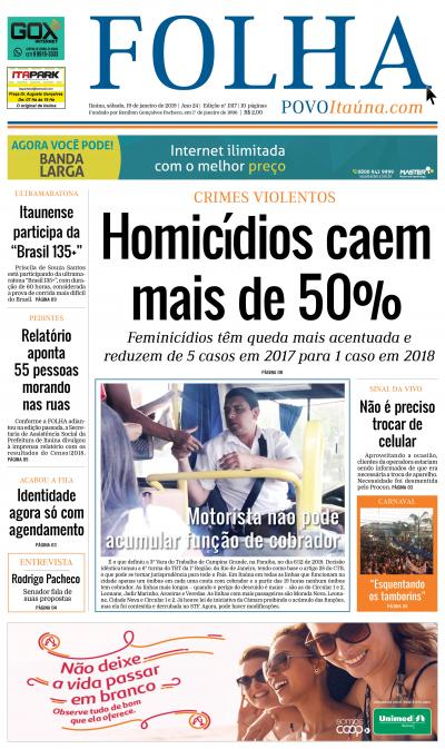 Edição 1317 19/01/2019