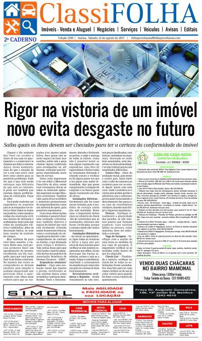Edição 1250 12/08/2017