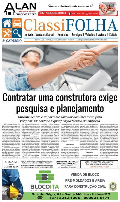 Edição 1325 23/03/2019