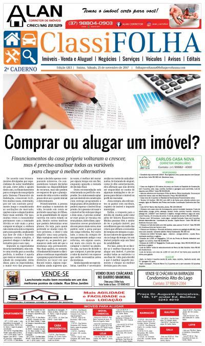 Edição 1263 25/11/2017