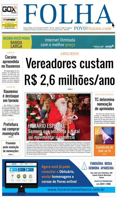 Folha do Povo Itaúna