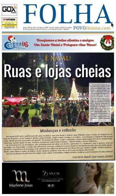 Edição 1267 23/12/2017