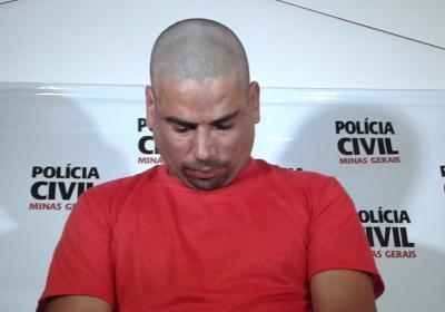 Wakson Dias da Cunha foi apresentado pela Polícia Civil como autor do crime de homicídio que teve como vítima  Eustáquio Ricardo dos Reis, no caso conhecido como Crime do P