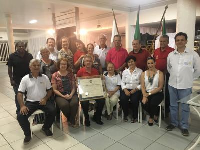 O Rotary de Itaúna Cidade Educativa completou 34 anos no dia  27 de fevereiro/19. Uma história maravilhosa de trabalho em prol  de nossa sociedade. Parabéns, Rotarianos do Cidade