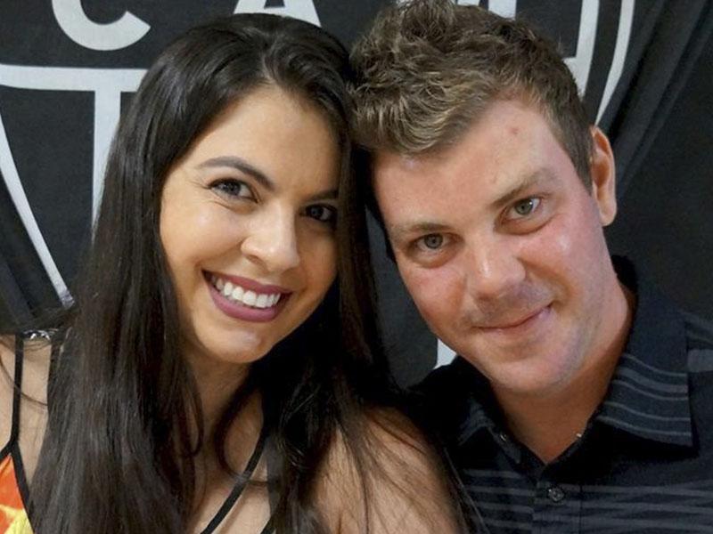 O super casal gente finíssima Ingrid Aline e Lucas Aguiar