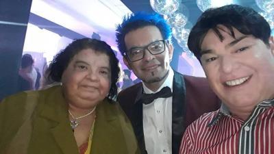 Jornalista Elza Lopes (amei revê-la), Luiz Parreiras e este colunista