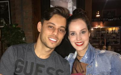 O  super casal Bruno Tapajós e Vanessa