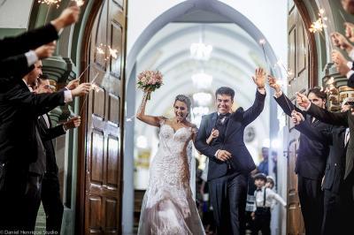 O casamento de Hebert Lima e Cristiane Magalhães mudou a história