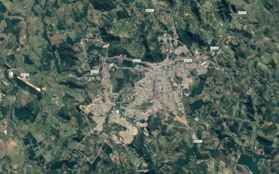 A prefeitura está usando o sistema de geolocalização para medir os imóveis e calcular o IPTU