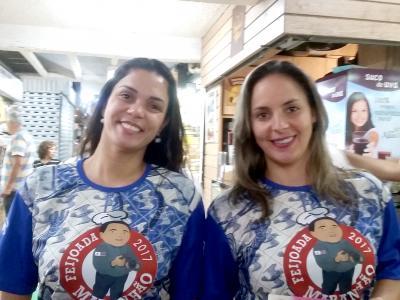 As estonteantes Juliana Goulart e Fabiana Coelho